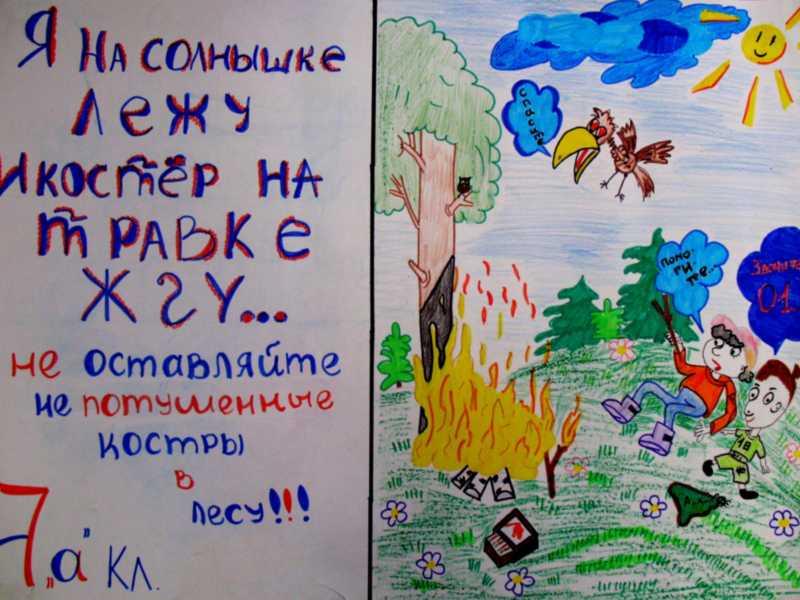 Плакаты на пожарную тему своими руками